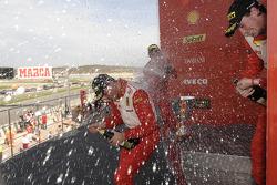 Ferrari Challenge: Mondiale Pirelli podium