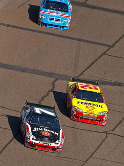 Robby Gordon, Robby Gordon Motorsports Dodge, Kevin Harvick, Richard Childress Racing Chevrolet, Reed Sorenson, Richard Petty Motorsports Dodge