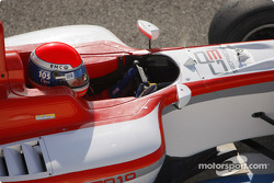 Paolo Ciccarone test drives the GP3 Series car