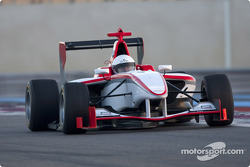 Victor Seara test drives the new GP3 Series car
