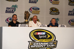 NASCAR championship contenders press conference in Coral Gables: Jimmie Johnson, Hendrick Motorsport