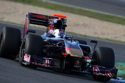 Mirko Bortolotti, Tests for Scuderia Toro Rosso