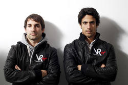 Timo Glock, driver, and Lucas di Grassi, driver