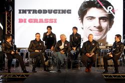 Lucas di Grassi, drivers is presented