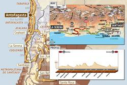 Etapa 10: 2010-01-12, La Serena a Santiago