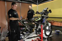 Team Casteu Sherco bike