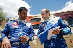 Nasser Al Attiyah et Timo Gottschalk