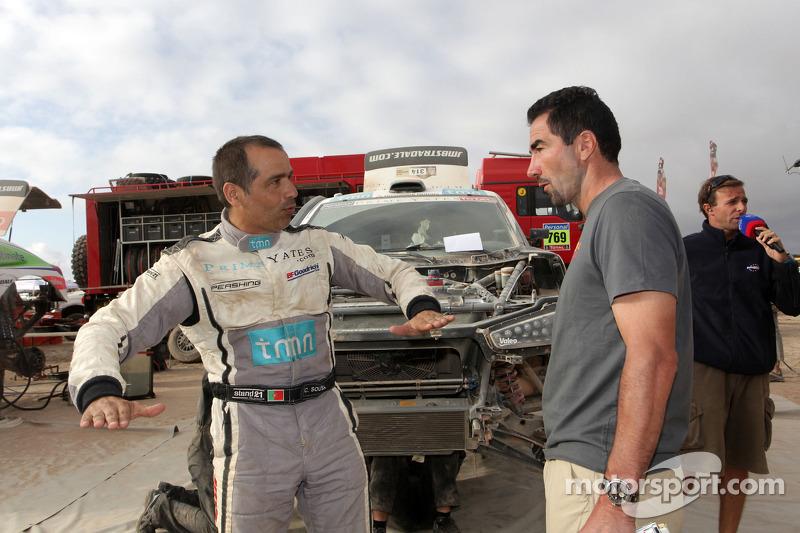 Carlos Sousa en Luc Alphen