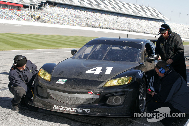 #41 Dempsey Racing/Team Seattle Mazda RX-8: James Gue, Leh Keen, Don Kitch Jr., Dave Lacey