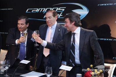 Campos Meta F1 Takımı tanıtımı