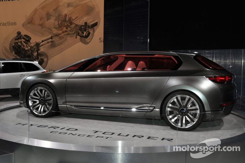Subaru Hybrid Tourer Concept Vehicle