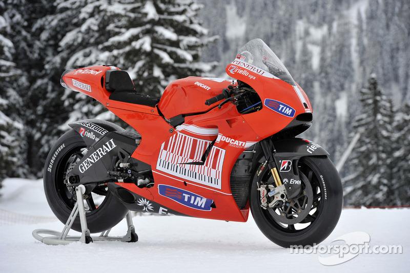 La nouvelle Ducati Desmosedici GP10