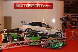 Auto's op het Autosport podium