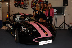 Sarah Moore and her new Ginetta G40