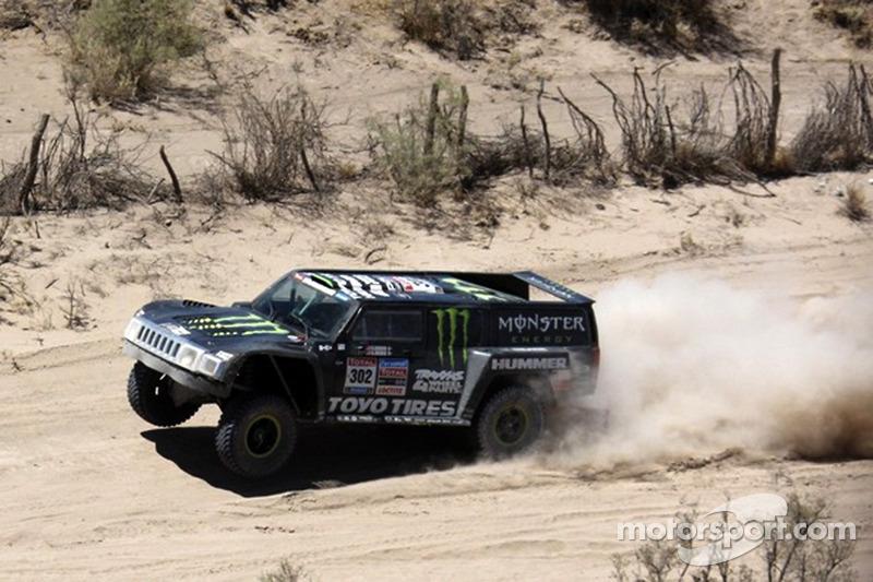 #302 Hummer: Robby Gordon et Andy Grider