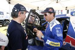 Carlos Sainz et Mark Miller