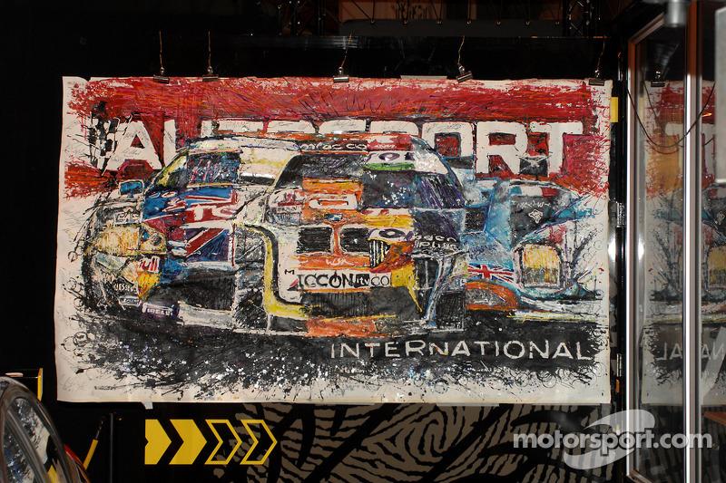 Autosport en plein travail