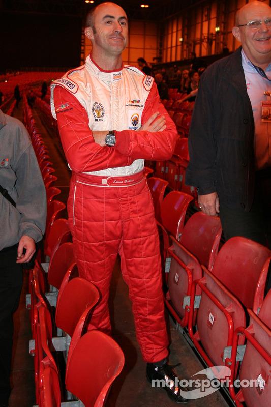David Brabham présente le challenge karting des célébrités