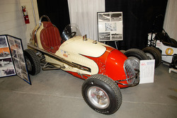 A classic upright Midget at the Atlantic Coast Old Timers display