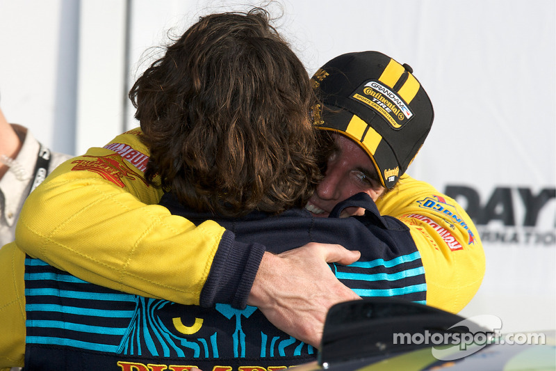 Victoire GS: Gianluis Bacardi et Matt Plumb célèbrent leur succès