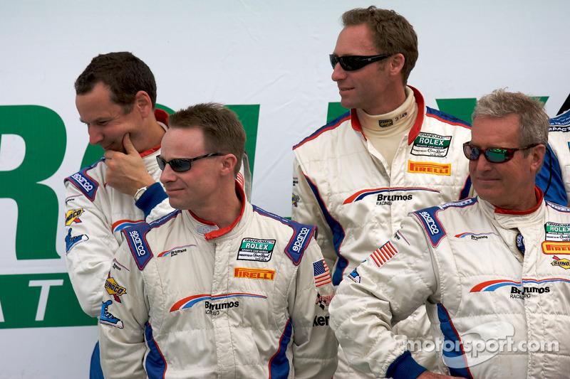 David Donohue, Hurley Haywood, Butch Leitzinger et Darren Law