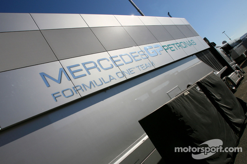 Camion Mercedes GP