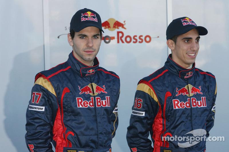 Alguersuari e Buemi competiram juntos pela Toro Rosso por duas temporadas e meia, entre 2009 e 2011.