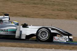 Nico Rosberg, Mercedes GP, W01