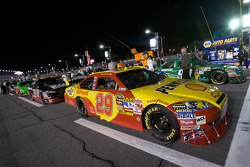 Pole winning car of Kevin Harvick, Richard Childress Racing Chevrolet on the starting grid