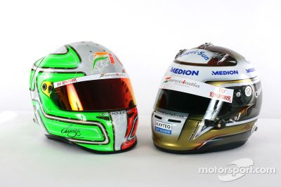 Force India VJM03 launch