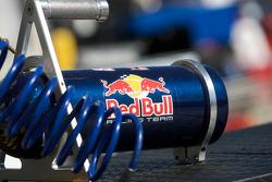 Red Bull Racing Team Toyota equipment detail