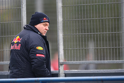 Norbert Vettel father of Sebastian Vettel, Red Bull Racing