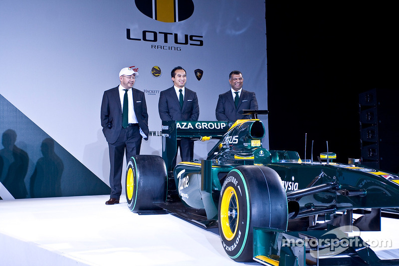 Share holders in F1 Team Lotus