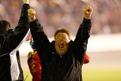 Earnhardt Ganassi Racing Chevrolet team members celebrate