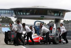 Льюис Хэмилтон, McLaren Mercedes, MP4-25