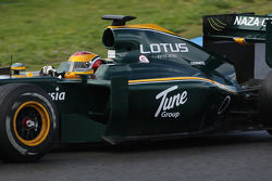Fairuz Fauzy, Test Driver, Lotus F1 Team, T127- Formula 1 Testing, Jerez, Spain