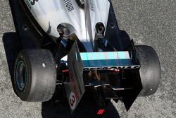 Mercedes GP Petronas, detail