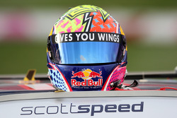 Helmet of Scott Speed, Red Bull Racing Team Toyota