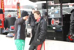 Tony Kanaan, Andretti Autosport and Marco Andretti, Andretti Autosport