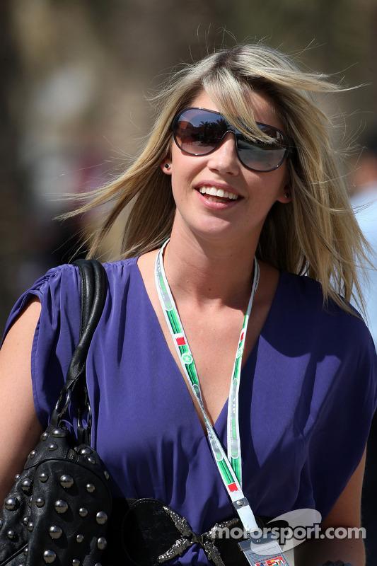 Isabell Reis, la compagne de Timo Glock