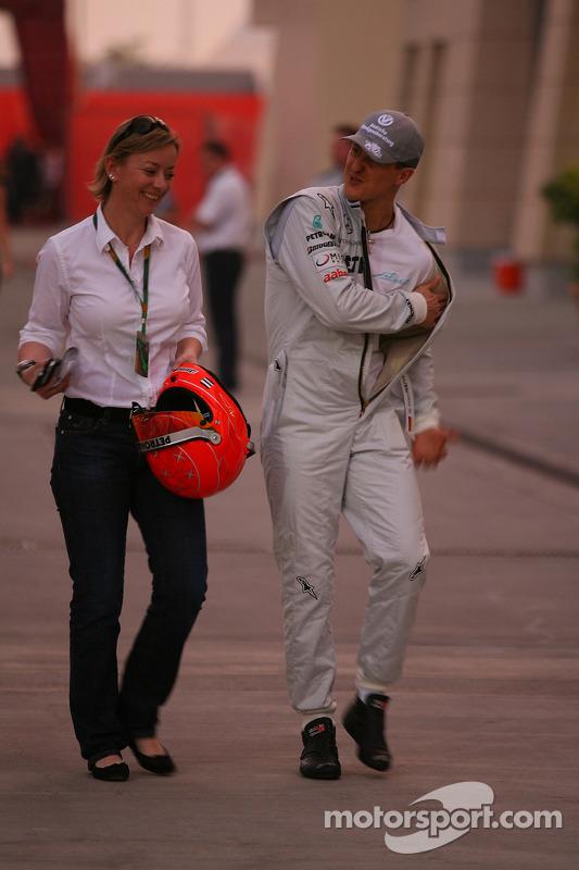 Sabine Kehm, Michael Schumacher's persverantwoordelijke met Michael Schumacher, Mercedes GP