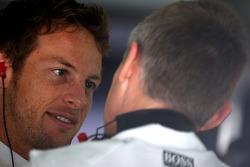 Jenson Button, McLaren Mercedes, Martin Whitmarsh, McLaren, Chief Executive Officer