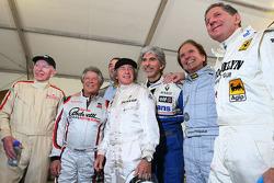 Чемпіон Ф1 1964 Джон Сьортіс, чемпіон Ф1 1979 Джоді Шектер, чемпіон Ф1 1978 Маріо Андретті, чемпіон Ф1 1969, 1971, 1973 Джекі Стюарт, чемпіон Ф1 1996 Деймон Хілл, чемпіон Ф1 1992 Найджел Менселл