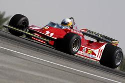 Jody Scheckter, 1979 F1 Champion du Monde pilote la 1979 Ferrari 312 T4