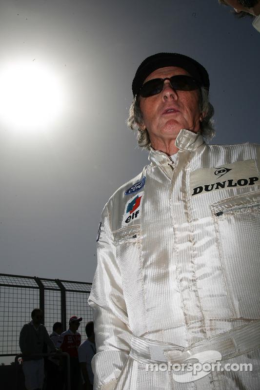 Sir Jackie Stewart, RBS vertegenwoordiger en oud-wereldkampioen F1