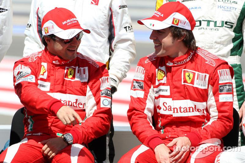 Felipe Massa, Scuderia Ferrari, Fernando Alonso, Scuderia Ferrari