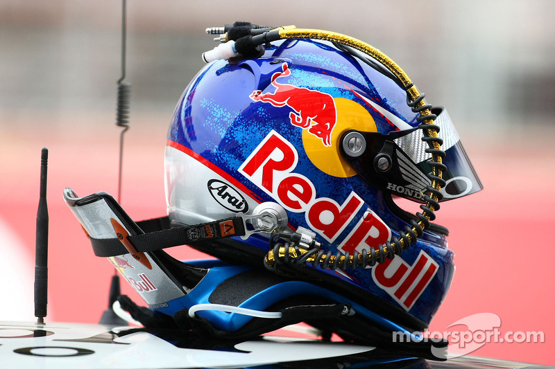 Casque de Rick Kelly