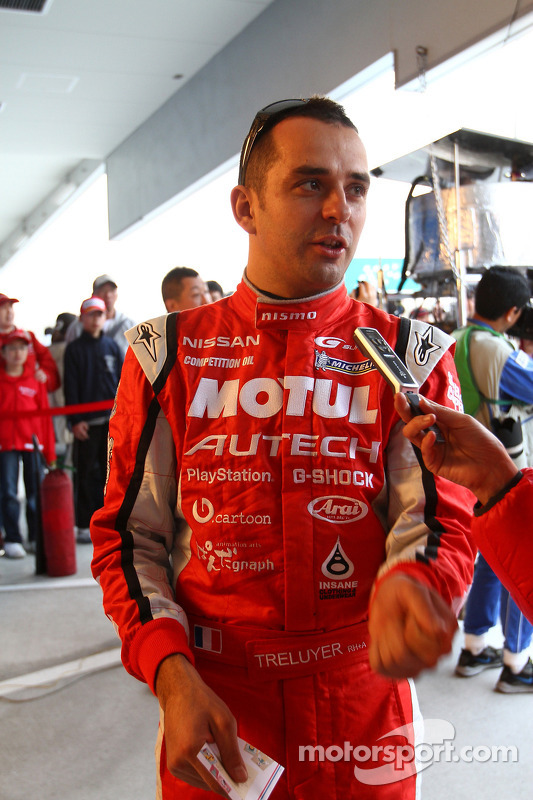 #23 Motul Autech GT-R: Motul Autech GT-R: Benoit Treluyer