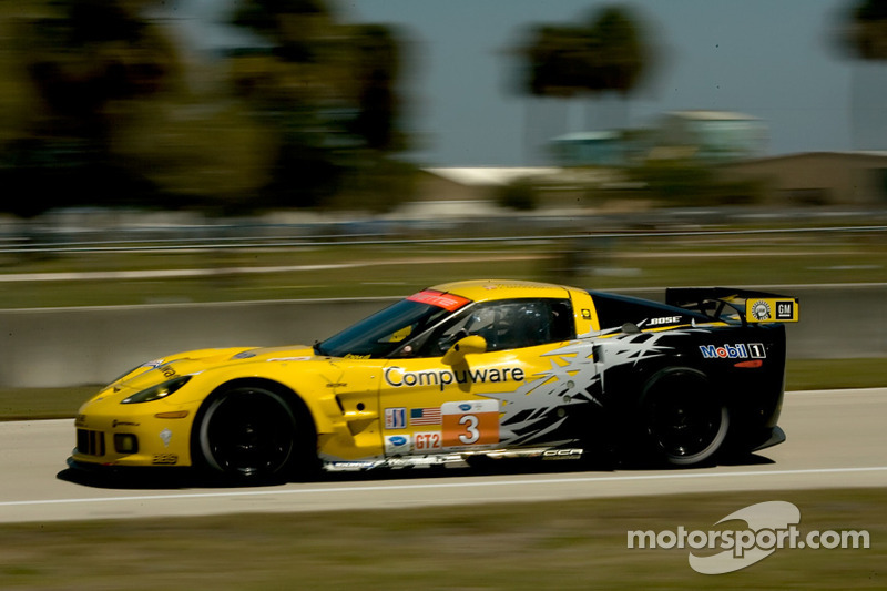 Corvette Racing Chevrolet Corvette ZR1: Jan Magnussen, Johnny O'Connell