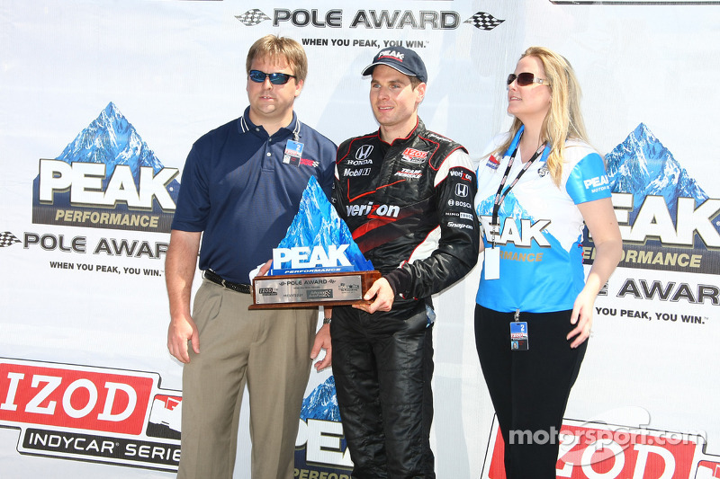 Le poleman Will Power, Team Penske